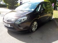 USED 2014 14 VAUXHALL ZAFIRA TOURER 1.4 ELITE 5d AUTO 138 BHP (7 SEATS LEATHER+SAT NAV)