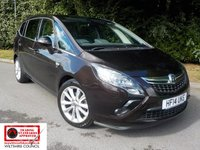 2014 VAUXHALL ZAFIRA TOURER 1.4 ELITE 5d AUTO 138 BHP (7 SEATS LEATHER+SAT NAV) £SOLD