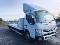 USED 2013 MITSUBISHI FUSO CANTER 3.0 7C18 47 1d AUTO 173 BHP * BEAVERTAIL *