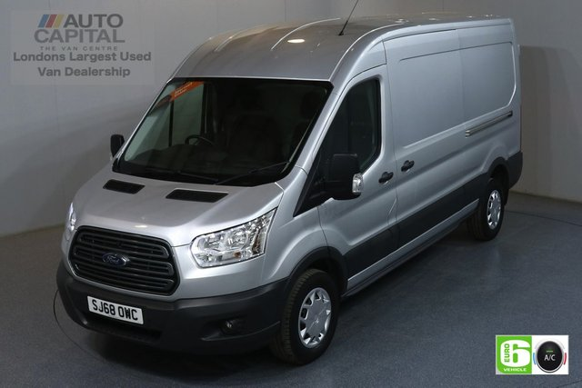 2018 68 FORD TRANSIT 2.0 350 TREND L3 H2 129 BHP EURO 6 ENGINE AIR CON, FRONT- REAR PARKING SENSORS