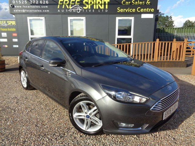 USED 2015 15 FORD FOCUS 1.0 T EcoBoost Titanium (s/s) 5dr Full Ford History, Nav, Phone