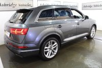 USED 2016 65 AUDI Q7 3.0 TDI V6 S line Tiptronic quattro (s/s) 5dr PAN ROOF + BOSE + HEADS UP!