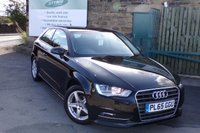 USED 2016 65 AUDI A3 1.6 TDI ULTRA SE 3d 109 BHP One Owner Full Service History