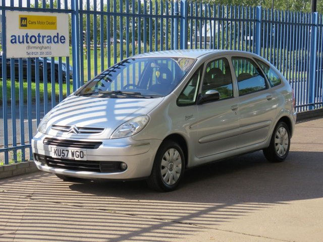 USED 2007 57 CITROEN XSARA PICASSO 1.6 PICASSO VTX 16V 5d 110 BHP Low Miles,Great Family car