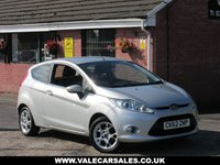 USED 2012 62 FORD FIESTA 1.2 ZETEC (BLUETOOTH) 3dr ONE OWNER SINCE 2013 + BLUETOOTH