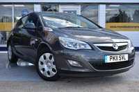 USED 2011 11 VAUXHALL ASTRA 1.6 EXCLUSIV 5d AUTO 113 BHP NO DEPOSIT FINANCE AVAILABLE