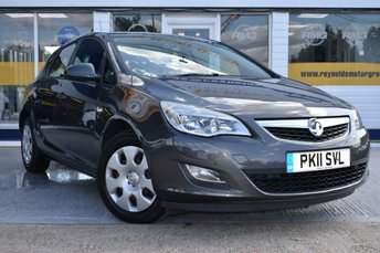 2011 VAUXHALL ASTRA 1.6 EXCLUSIV 5d AUTO 113 BHP £SOLD