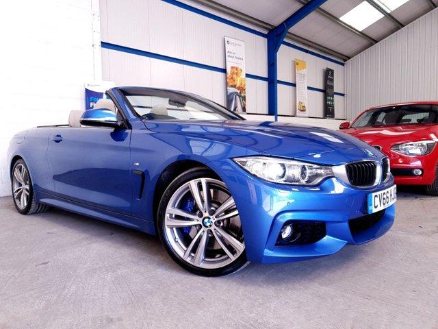 USED 2016 66 BMW 4 SERIES 3.0 430D M SPORT 2d AUTO 255 BHP