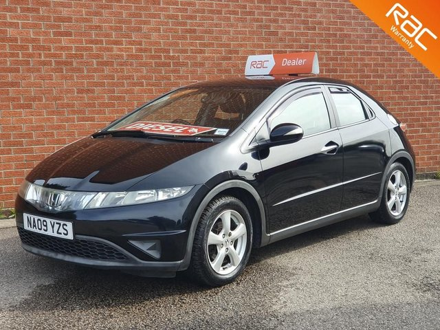 2009 09 HONDA CIVIC 2.2 SE I-CTDI 5d 139 BHP FULL LEATHER HEATED SEATS