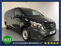 USED 2018 18 MERCEDES-BENZ VITO 2.1 114 BLUETEC TOURER PRO EXTRALONG 5d 136 BHP FULL HISTORY - 1 OWNER - 9 SEATS - ULEZ OK - CAMERA - AIR CON -BLUETOOTH - CRUISE - PRIVACY