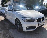 2016 BMW 1 SERIES 1.5 118I SPORT 5d 134 BHP £11999.00