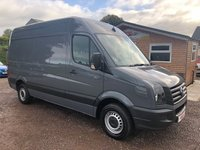 USED 2015 15 VOLKSWAGEN CRAFTER 2.0 CR35 TDI H/R P/V 1d 135 BHP