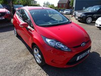 USED 2011 11 FORD FIESTA 1.2 EDGE 3d 81 BHP LOW MILEAGE * SERVICE HISTORY VOICE COMMAND BLUETOOTH TELEPHONE