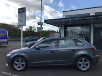 USED 2017 67 AUDI A3 1.5 TFSI SPORT 5d AUTO 150 BHP ***1Owner,Nav,Cruise,Xenons,DriveSelect,ParkAid***
