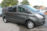 USED 2015 65 FORD TRANSIT CUSTOM 2.2 290 TREND LR DCB 1d 124 BHP BEAUTIFUL CLEAN EXAMPLE - LOW MILES - NO VAT