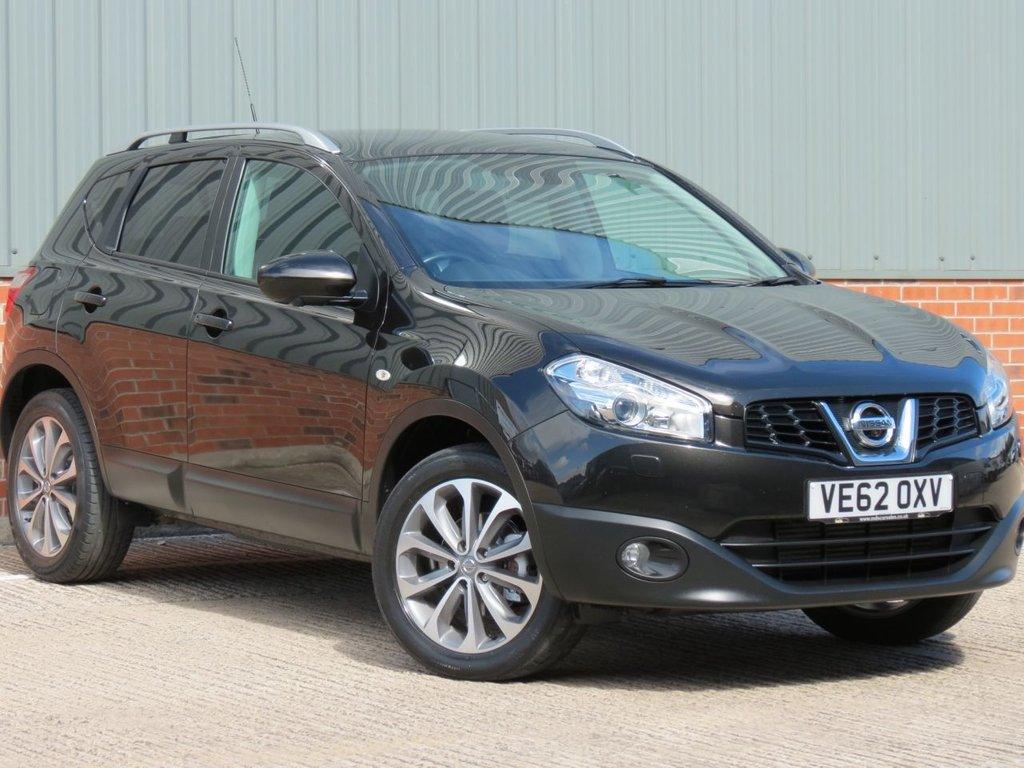 USED 2012 62 NISSAN QASHQAI 1.5 TEKNA DCI 5d 110 BHP EXCELLENT CONDITION AND FANTASTIC VALUE