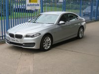 USED 2014 64 BMW 5 SERIES 2.0 520D SE 4d Auto Sat nav Leather Cruise Heated seats DAB