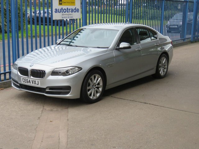 USED 2014 64 BMW 5 SERIES 2.0 520D SE 4d Auto Sat nav Leather Cruise Heated seats DAB Finance arranged Part exchange available Open 7 days