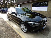USED 2014 64 BMW 1 SERIES 1.6 116D EFFICIENTDYNAMICS BUSINESS 5d 114 BHP
