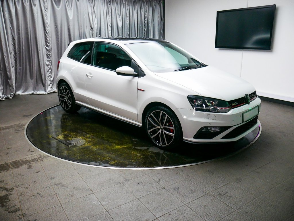 USED 2015 15 VOLKSWAGEN POLO 1.8 GTI 3d 189 BHP £0 DEPOSIT FINANCE AVAILABLE, AIR CONDITIONING, AUTOMATIC HEADLIGHTS, AUX INPUT, BLUETOOTH CONNECTIVITY, CLIMATE CONTROL, CRUISE CONTROL, DAB RADIO, DAYTIME RUNNING LIGHTS, HEATED SEATS, PANORAMIC ROOF, PARKING SENSORS, REVERSE CAMERA, SPORT MODE, START/STOP SYSTEM, STEERING WHEEL CONTROLS, TOUCH SCREEN HEAD UNIT, TRIP COMPUTER, USB INPUT