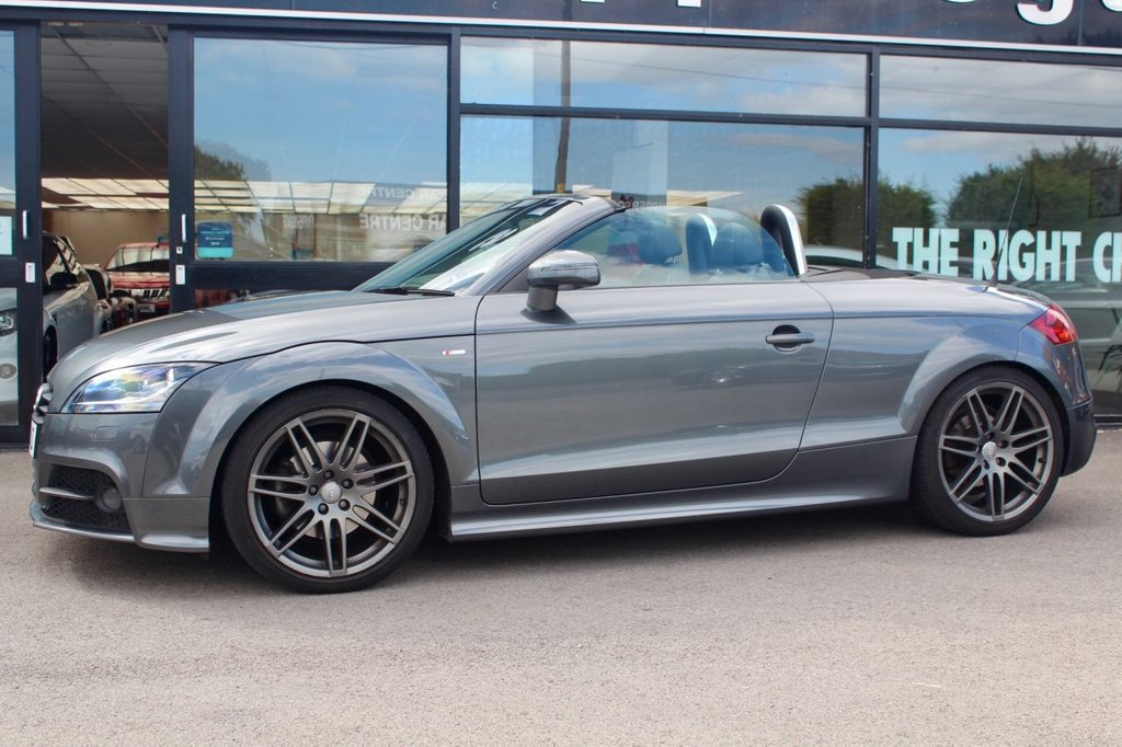 USED 2013 13 AUDI TT 2.0 TDI QUATTRO BLACK EDITION 2d 168 BHP Big Specification Daytona Grey TT Black Edition, Extras over and above standard Black Edition - Heated Seats Cost £295, Full Fine Nappa Leather Cost £560, Comfort Pack cost £510, Technology Pack Cost £515, Audi Music Interface, Electric Folding and Heated Mirrors,