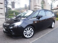 USED 2015 15 VAUXHALL ZAFIRA TOURER 2.0 ELITE CDTI S/S 5d 168 BHP ****FINANCE ARRANGED****PART EXCHANGE WELCOME***1OWNER*LEATHER*PAN ROOF*7 SEAT*CRUISE*HEATED SEATS