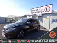 USED 2014 64 NISSAN QASHQAI 1.5 DCI TEKNA 5d 108 BHP GOOD AND BAD CREDIT SPECIALISTS! APPLY TODAY!