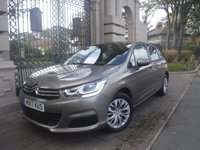USED 2017 17 CITROEN C4 1.6 BLUEHDI TOUCH 5d 98 BHP *FINANCE ARRANGED*PART EXCHANGE WELCOME*1 OWNER*£0 FREE TAX*CRUISE*A/C*2 KEYS*SERVICE HISTORY*CD PLAYER*