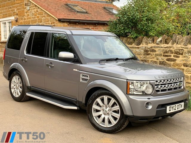 2012 12 LAND ROVER DISCOVERY 3.0 4 SDV6 HSE 5d AUTO 255 BHP