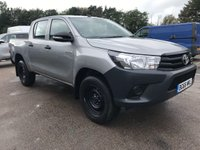 USED 2016 66 TOYOTA HI-LUX 2.4 D-4D D/CAB 4X4 ACTIVE **NEWSHAPE**VERY LOW MILES**