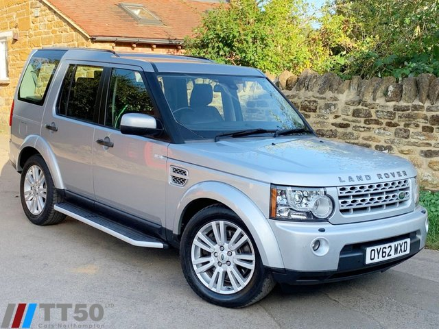 2012 62 LAND ROVER DISCOVERY 3.0 4 SDV6 XS 5d AUTO 255 BHP