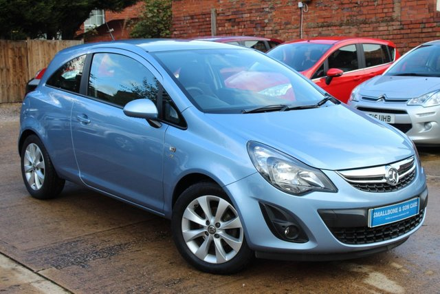 USED 2014 64 VAUXHALL CORSA 1.2 EXCITE AC 3d 83 BHP **** VERY LOW MILEAGE ****