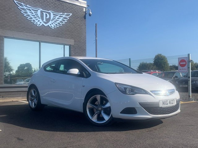 USED 2013 13 VAUXHALL ASTRA 1.7 GTC SPORT CDTI S/S 3d 128 BHP AA WARRANTY,  MOT AND SERVICE INCLUDED