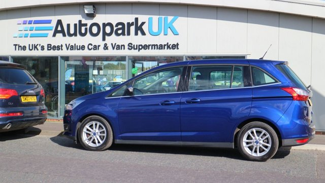 USED 2016 16 FORD GRAND C-MAX 1.5 ZETEC TDCI 5d 118 BHP LOW DEPOSIT OR NO DEPOSIT FINANCE AVAILABLE