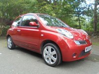 USED 2009 59 NISSAN MICRA 1.4 ACENTA 3d 88 BHP SUPPLIED WITH 12 MONTHS MOT