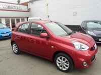USED 2015 65 NISSAN MICRA 1.2 ACENTA 5d AUTO 79 BHP