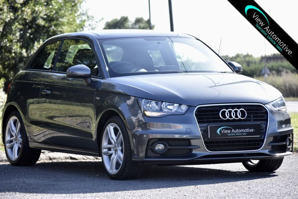 USED 2014 14 AUDI A1 1.6 TDI S LINE 3d 105 BHP PAN ROOF