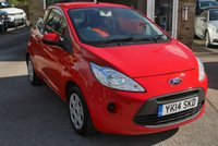 USED 2014 14 FORD KA 1.2 EDGE 3d 69 BHP START STOP MODEL