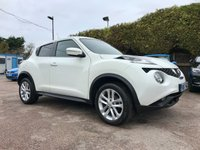 USED 2017 17 NISSAN JUKE 1.5 DCI N-CONNECTA 5d WITH SAT NAV AND PRIVACY GLASS NO DEPOSIT  PCP/HP FINANCE ARRANGED, APPLY HERE NOW