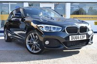 USED 2016 66 BMW 1 SERIES 2.0 120D XDRIVE M SPORT 5d AUTO 188 BHP NO DEPOSIT FINANCE AVAILABLE