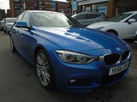 USED 2016 66 BMW 3 SERIES 3.0 330D M SPORT 4d AUTO 255 BHP, ULEZ EXEMPT ONLY 20,000 MILES!