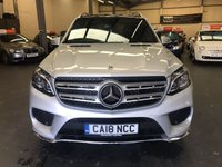 USED 2018 18 MERCEDES-BENZ GLS 3.0 GLS 350 D 4MATIC AMG LINE 5d AUTO 255 BHP Still under manufacturer warranty and in lovely condition