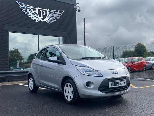 USED 2009 09 FORD KA 1.2 STYLE 3d 69 BHP AA WARRANTY,  MOT AND SERVICE INCLUDED