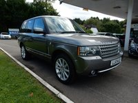 USED 2010 10 LAND ROVER RANGE ROVER 3.6 TDV8 AUTOBIOGRAPHY 5d AUTO 271 BHP REAR DVD,TV,SAT NAV,HEATED AND COOLED SEATS,TWO KEYS