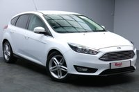 """USED 2015 65 FORD FOCUS 1.0 ZETEC 5d 100 BHP 17"""" ALLOYS+2 OWNERS+PRIVACY GLASS+AIR CON+ENGINE START / STOP+BLUETOOTH"""