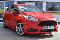 USED 2013 63 FORD FIESTA 1.6 ST 3d 180 BHP NO DEPOSIT FINANCE AVAILABLE