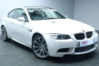 "USED 2012 62 BMW M3 4.0 M3 2d AUTO 415 BHP FULL BMW SERVICE HISTORY+SAT NAV+19"" ALLOYS+FULL LEATHER UPHOLSTERY+PARKING SENSORS+CRUISE CONTROL"