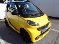 2013 SMART FORTWO 1.0 CITYFLAME EDITION MHD 2d AUTO 71 BHP £4975.00