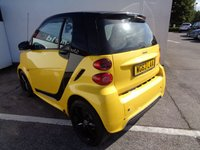 USED 2013 63 SMART FORTWO 1.0 CITYFLAME EDITION MHD 2d AUTO 71 BHP £116 A MONTH   BLUETOOTH  SATELLITE NAVIGATION  FREE ROAD TAX  FULL LEATHER EASE OF PARKING IDEAL COMMUTER CAR