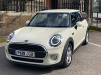 USED 2019 19 MINI HATCH ONE 1.5 ONE CLASSIC 3d 101 BHP PEPPER WHITE, AIR CONDITION, LED FRONT LIGHTS, DAB RADIO, ONLY 265 MILES
